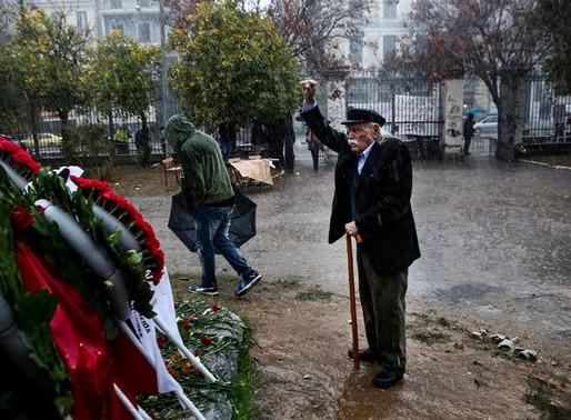 H Συμμαχία Πολιτών εκφράζει θλίψη για τον θάνατο του Μανώλη Γλέζου