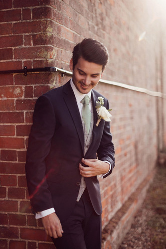 Essex groom buttonhole