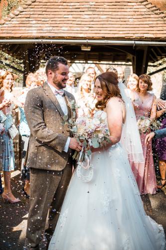 Just married Essex
