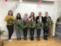 Essex florist, wreath class