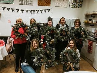 Christmas wreaths Essex