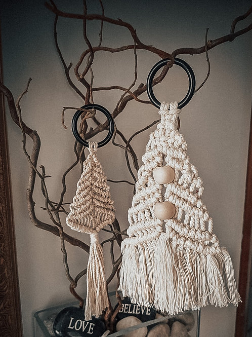 Big Christmas Tree Macrame decoration