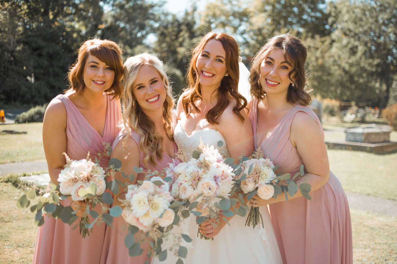 Bridal party Essex