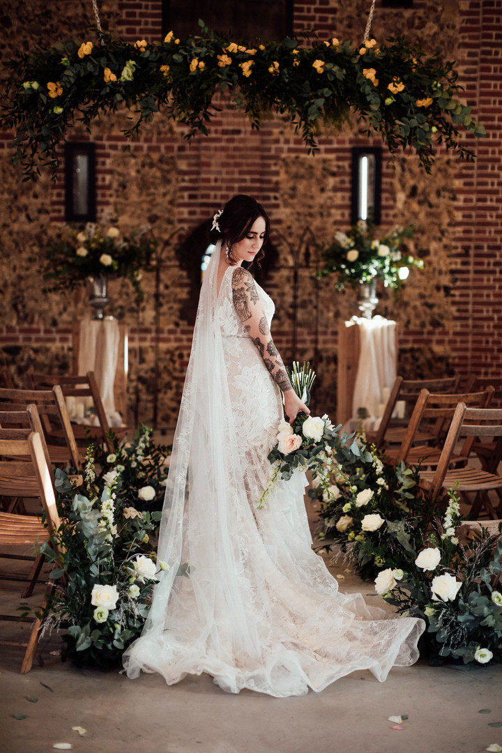 Essex bride and essex florist