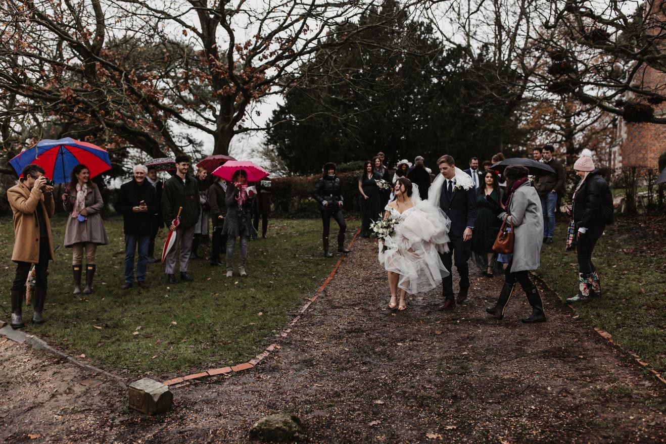 Essex intimate wedding