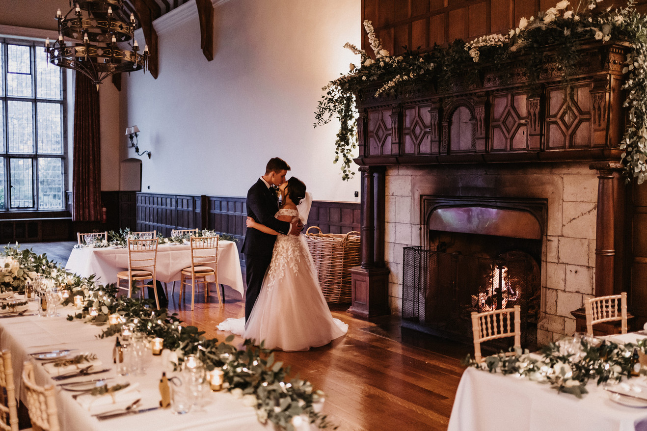 Essex fireplace wedding venue