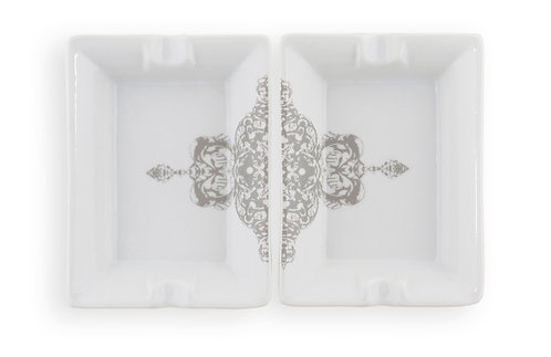 'Lace' Ashtray Set