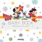 Magic Birds Baby Book Cover