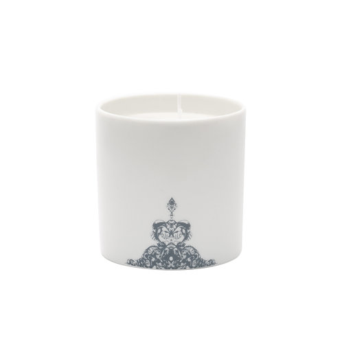 'Half Lace' Jasmine Scented Candle