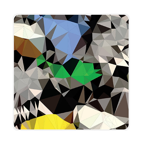 'Prism Path' Coasters Set of 6