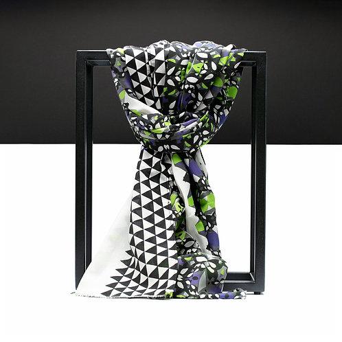 'Scorpion' Cotton/Silk Scarf