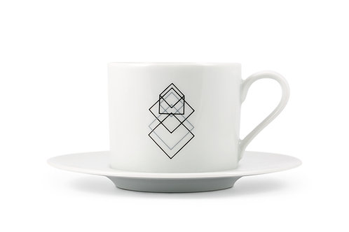 'Cube' Cappuccino cup