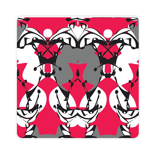 'Harlequin' Coasters Set of 6