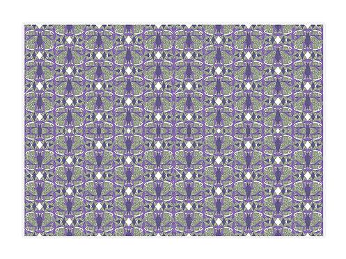 'Maze Net' Placemat Set of 4