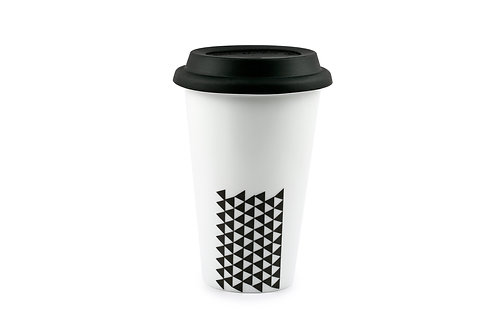'Pyramid' to-go Mug