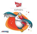 Magic Birds Portrait Book Cover