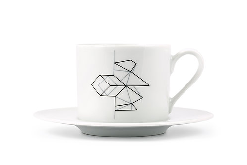 'Iceberg' Cappuccino cup