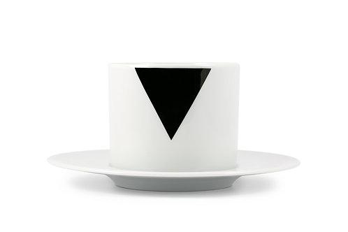 'Triad' Cappuccino cup