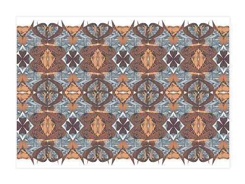 'Maze Africa' Placemat Set of 4