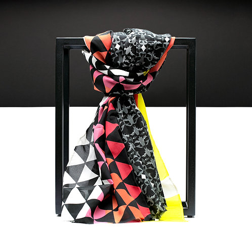 'Star Wars Pyramid' Cotton/Silk Scarf