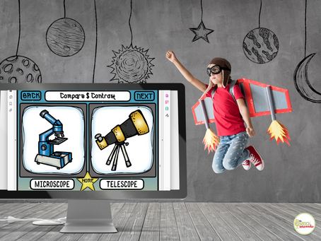 FREE Outer Space Themed Materials for Teletherapy