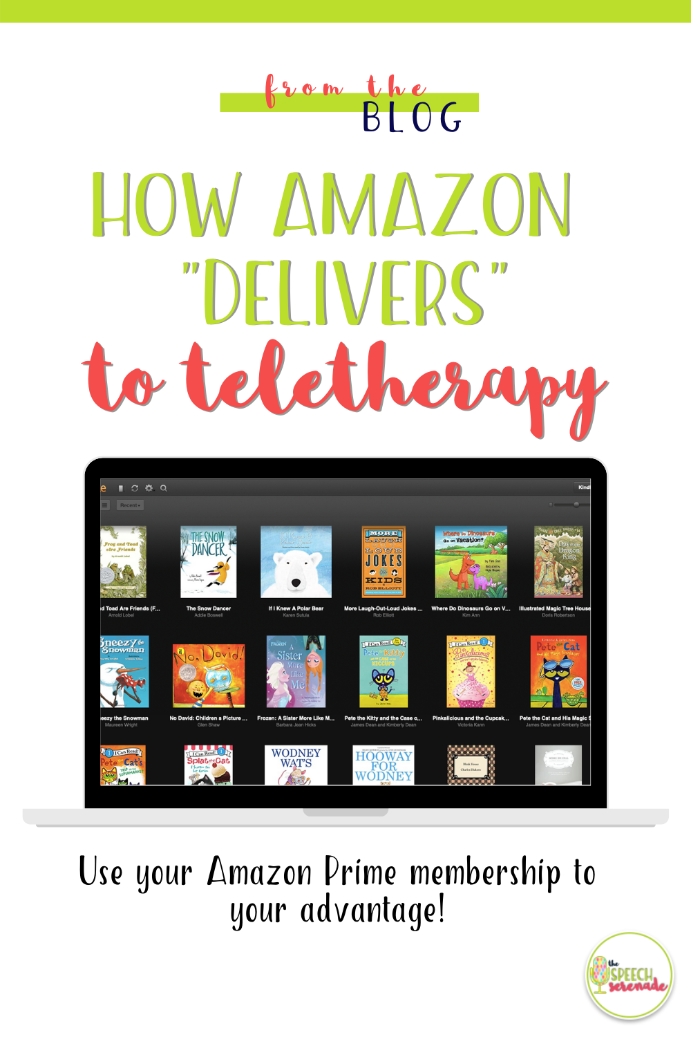 PIN How Amazon Delivers to Teletherapy