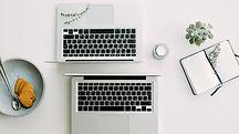two-macbook-pro-beside-gray-bowl-705675.