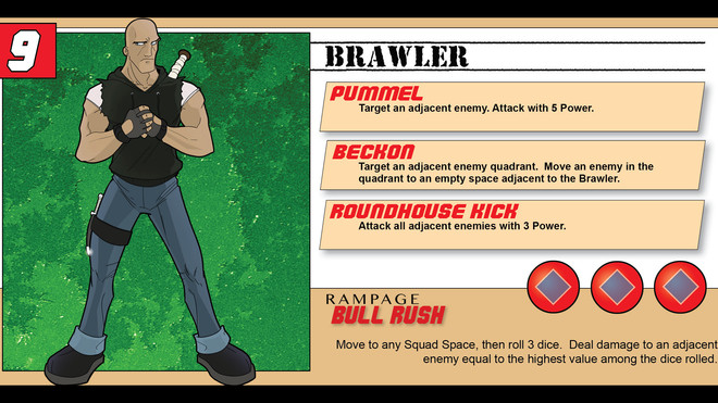 Hero Spotlight - The Brawler
