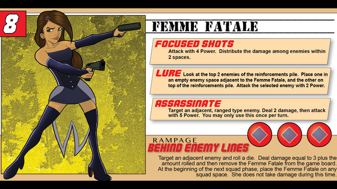 Hero Spotlight - The Femme Fatale