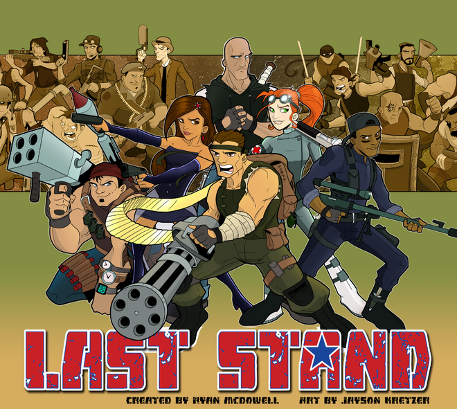 Last Stand Funded!
