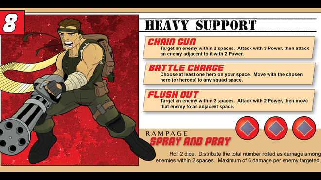 Hero Spotlight - The Heavy Support