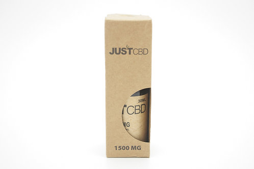 JustCBD Honey Liquid Tincture 1500mg