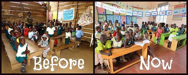 Kindergarten vorher und jetzt