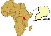 Wo in Afrika ist Uganda?