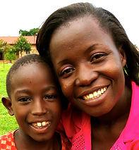 Praise mit einem der Kinder