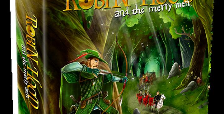 Robin Hood and the merry men dt. Ausgabe