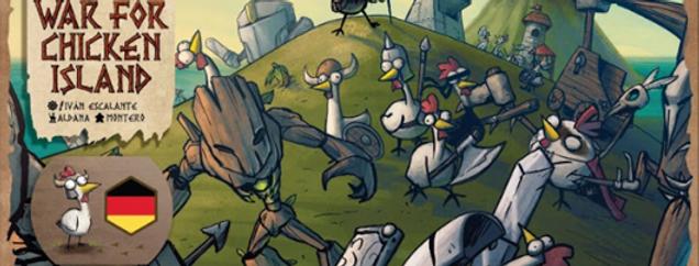 War for Chicken Island dt. Ausgabe