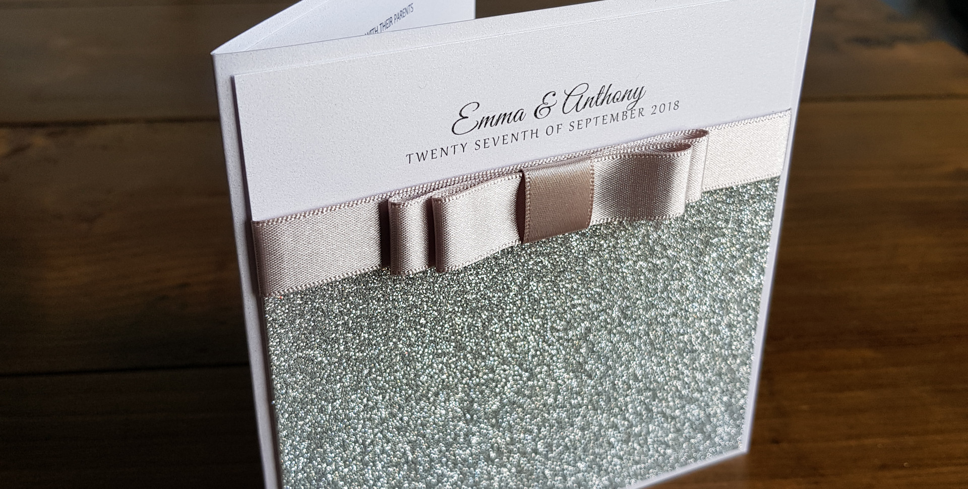 Lisa - Day wedding invitation