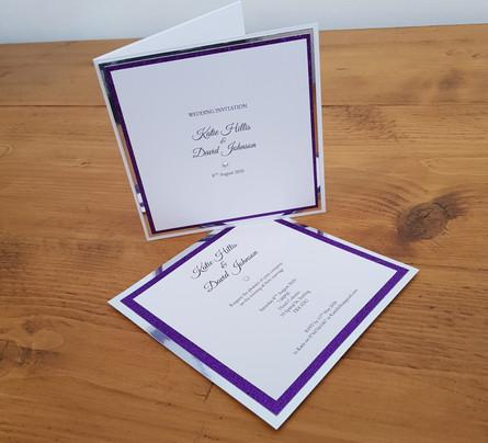 Katie - Wedding invitations