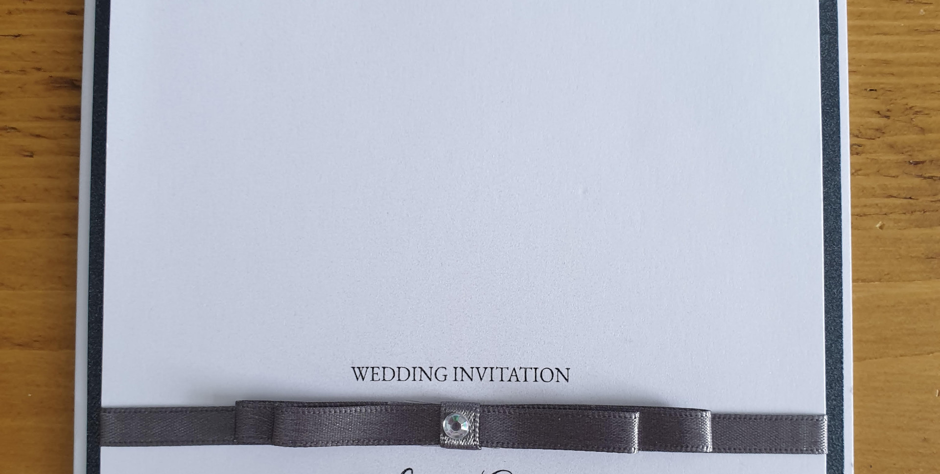 Lori - Day wedding invitation