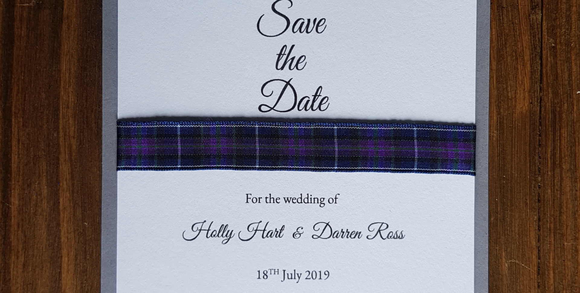Holly - Save the date
