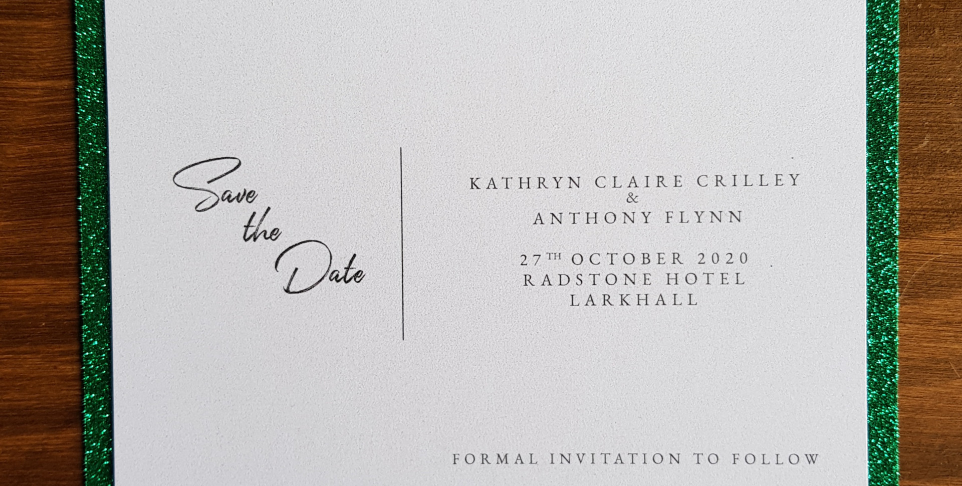 Kathryn - Save the date