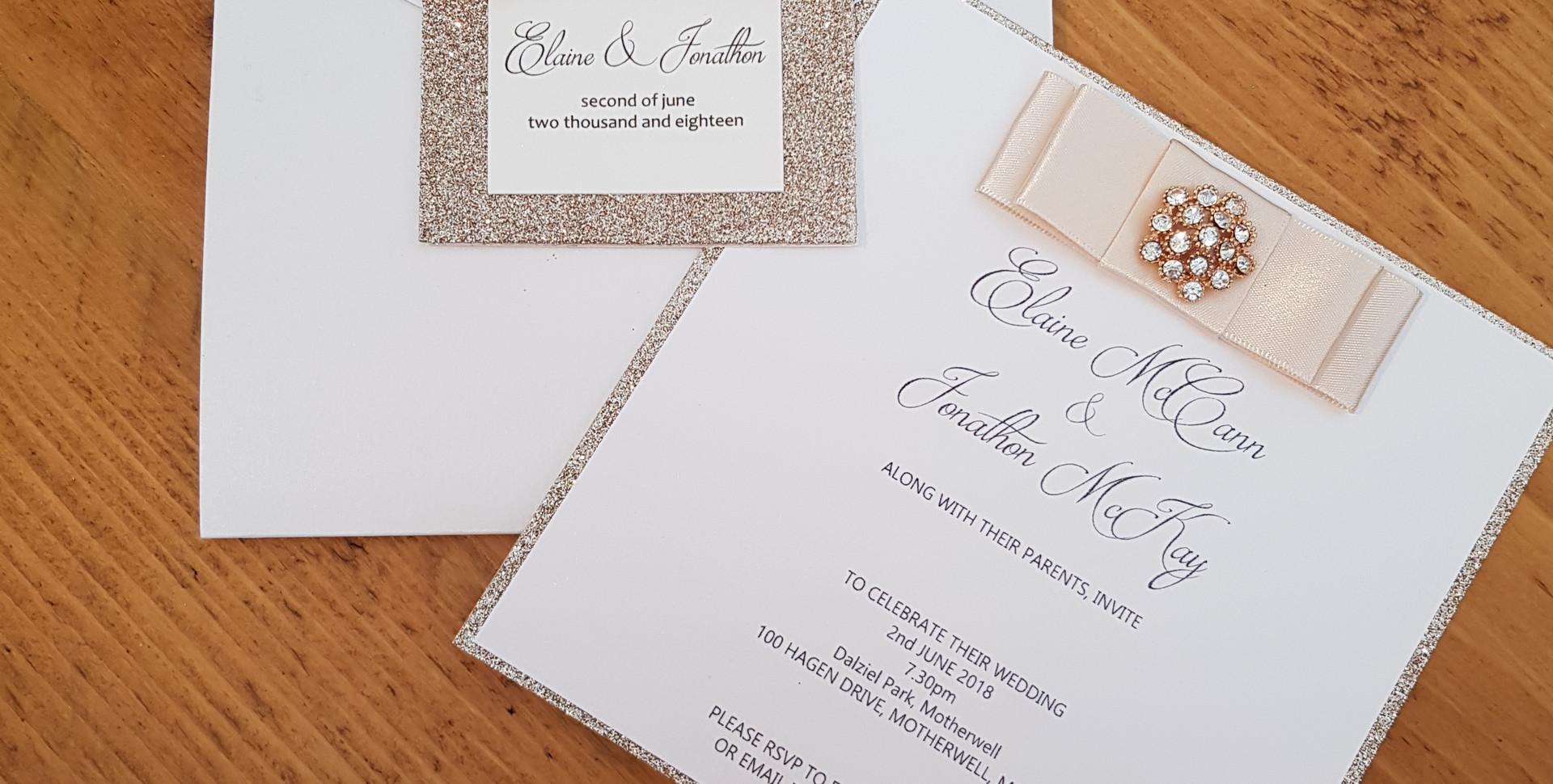 Elaine - Wedding invitations