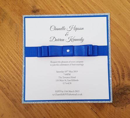 Channelle - Evening wedding invitation