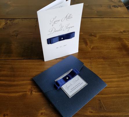 Lynne - Wedding invitations