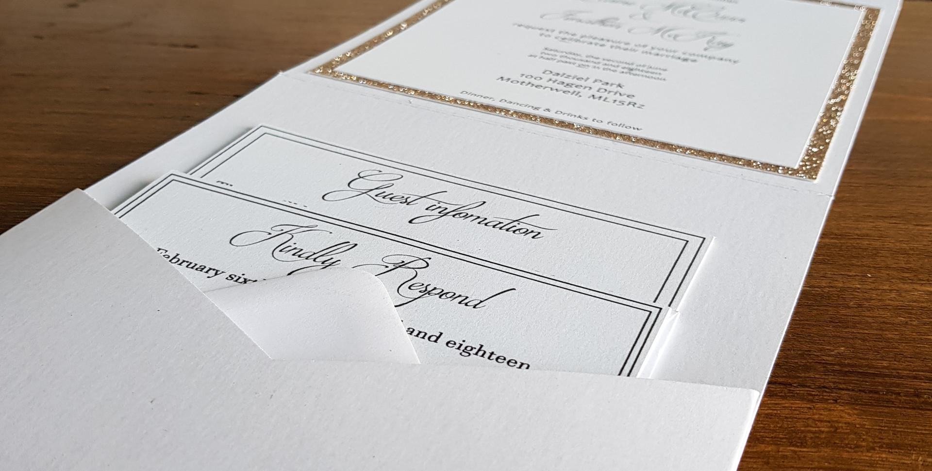 Elaine - Day wedding invitation
