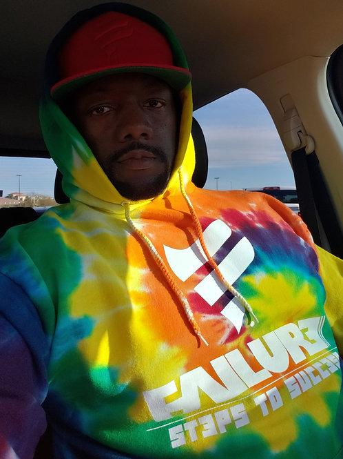 Failure Tye Dye Hoodies (rainbow color available)