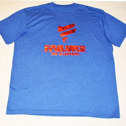 Men's Failure Tshirt - Super Man 60/40 Blend