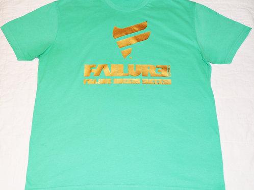 Men's Failure Tshirt - Foil Gold 60/40 Blend