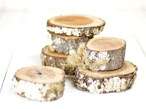 'Mossy' Small Round Tree Cuts